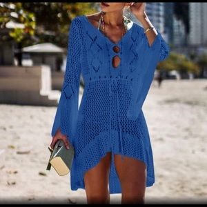 Other - ☀️ 2 Left - Crochet Knit Swimsuit Coverup 🦋